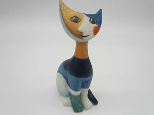"""LIVIA"" Rosina Wachtmeister Goebel Cat Figurine MINT 4"""
