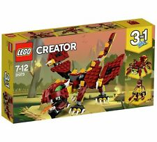 LEGO 31073 Creator Mythical Creatures Dragon Toy Set NEW & SEALED IN BOX b2