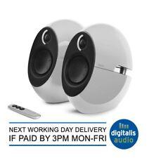 Edifier E25HD White Luna Eclipse 74W Active Bluetooth Speakers Optical TV MAC...