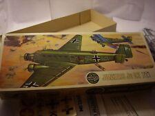 AIRFIX 588 SERIES 5 WWII GERMAN JUNKERS Ju 52 TRANSPORT PLANE ar 72nd scale