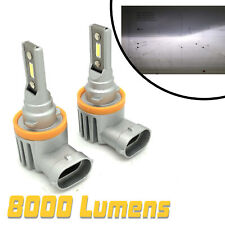 H11 V12 CSP LED Fog Light Bulbs Kit 8000lm perfect beam For Nissan