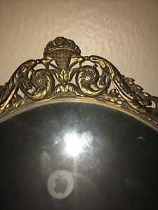 french hand mirror antique