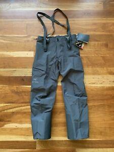 Arcteryx Alpha AR Pant Men's Size Large | Pilot Grey | Gore-Tex | $525 Retail