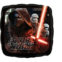 2 x Star Wars Double Sided 17'' Round Helium Birthday Party Balloon - Twin Pack
