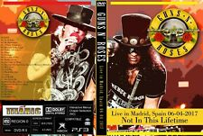 GUNS AND ROSES. LIVE IN MADRID 2017. DVD.