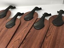 HUNTER IMPORT CEILING FAN REVERSIBLE BLADES AND IRONS COMPLETE WALNUT/LIGHT OAK