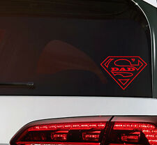 Super Dad on Board Sticker Vatertag Aufkleber JDM Decal Premium Folie 12,5 cm