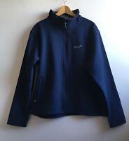 New With Tags Men's Gelert Navy Soft shell Jacket Inner Fleece Mountain size 3XL