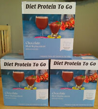Diet Protein To Go Chocolate Drink mix.  Like Ideal Protein! 15 gram of protein