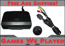 Genuine Nintendo 64 N64 Power Supply and AV Cord AU Plug