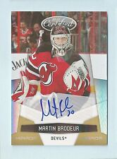 MARTIN BRODEUR 2010/11 CERTIFIED MIRROR GOLD AUTOGRAPH AUTO 1/25 DEVILS