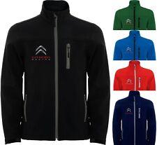 Citroen Softshell Jacket Parka Sport Veste Mantel Chaqueta Giacca Blouson Jacke