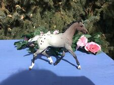 Breyer CM Custom-Red Roan Appaloosa Foal
