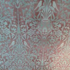 Morris Archive Secret Garden Rose Pink Curtain/Craft /Upholstery Fabric