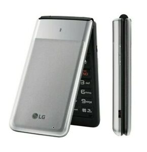 LG UN220 LTE 4G GSM Flip Phone -AT&T ONLY not in the original box.