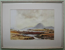Original Watercolour Painting Irish Art THE MOURNES, COUNTY DOWN BY VIC HAMILTON