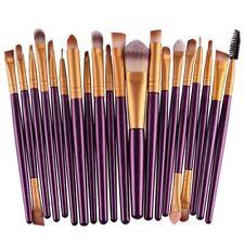 20Set Makeup Brushes Kit Powder Foundation Eyeshadow Eyeliner Lip Brush Tool