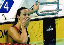 Penny Oleksiak Hand Signed Autograph Photo  Canada Swimmer Olympic Gold Medalist