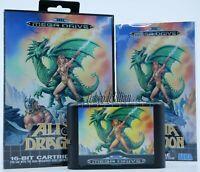 Sega Mega Drive - Alisia Dragoon - Pal EUR / Reproduction