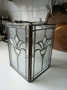 Art Deco Style Leaded Glass Lampshade