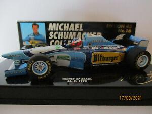 BENETTON RENAULT B195, #1, Michael Schumacher, 1995 Winner GP Brazil, NEW!!!
