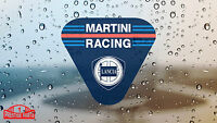 Lancia Martini Racing Club window sticker 50 mm - Rally Motorsport glass decal