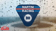 Lancia Martini Racing Club window sticker 80 mm - Rally Motorsport glass decal
