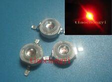 3W 620-630NM High Power Red 3Watt LED Light Emitter diodes  10PCS