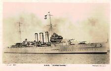 RPPC,H.M.S.Dorsetshire (40),Royal British Navy,Heavy Cruiser,WW II,Sunk in 1942