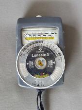Gossen Lunasix 3 Light Meter for Photography