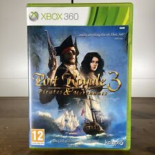 Port Royale 3 Piratas & comercios Xbox 360 PAL Reino Unido ** Free UK Post **