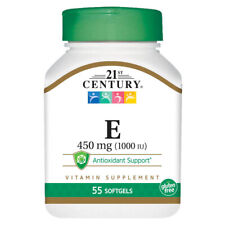 21st Century Vitamins VITAMIN E-1000IU (450 mg)