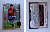 Trey Ball Signed 2015 Bowman Prospects #BP133 Card Boston Red Sox Auto Autograph