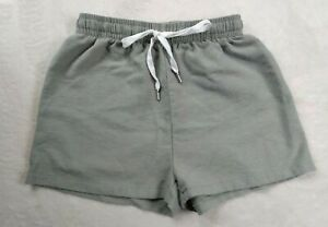 New NWOT Size Small Shorts By Shein Light Green Linen Shorts