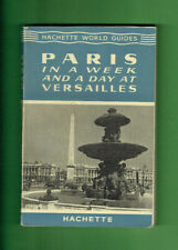 #RR.  1955  TRAVEL GUIDE BROCHURE  PARIS, FRANCE
