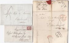 # 1822/75 3 Coldstream lettres Thos Jopling Farm Rob Wotherspoon ont fait louer Gen Hunter