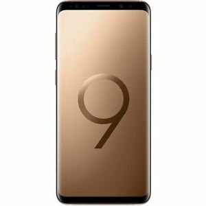 "Samsung Galaxy S9 G960FD 256GB Gold  5.8"" Super AMOLED Android Phone By FedEx"