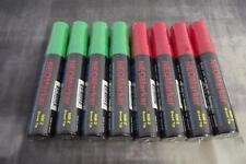 Windshield Glass Window Liquid Markers Waterproof 4 Green 4 Red Christmas Colors
