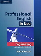 Cambridge PROFESSIONAL ENGLISH IN USE ENGINEERING Technical with Answers @NEW@
