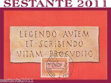 ITALIA MAXIMUM MAXI CARD 1974 SATIRE MENIPPEE MARCO TERENZIO VARRONE REATINO 57