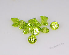 Genuine Green Peridot Round VVS (Excellent Quality)