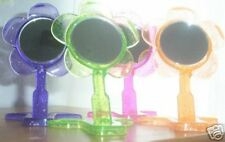 SET OF 4 FLOWER MIRRORS  FREE SHIPPING FREE SHIPPING
