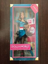 2011 Collector Barbie Doll Argentina Dolls Of The World,Pink Label, MISB