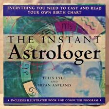 The Instant Astrologer Book & Computer Program Lyle/Aspland Windows 95/98/NT NIB
