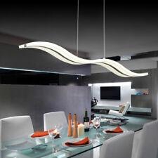 Modern LED Chrome Chandelier Acrylic Ceiling Light Pendant Lighting Fixture Warm