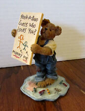 Boyds Bears Bearstone Collection - Lil' Tot... Guess Who Loves You? Style #82529