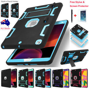 """For Apple iPad 9th /8th / 7th Gen 10.2"""" Hybrid Shockproof Armor Stand Case Cover"""