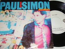 "7"" - Paul Simon Allergies - 1983 Portugal # 2121"