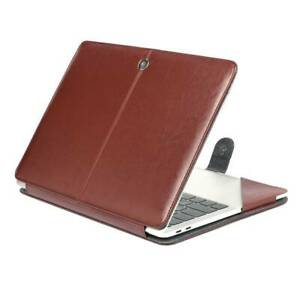 Magnet Leather Sleeve Case Protective Bag Pouch Cover For Apple Macbook Pro 13