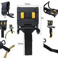 95x75mm Tool Hammer Holder 60mm Hook Loop Tool Belt For Hanging Power Cord Wire
